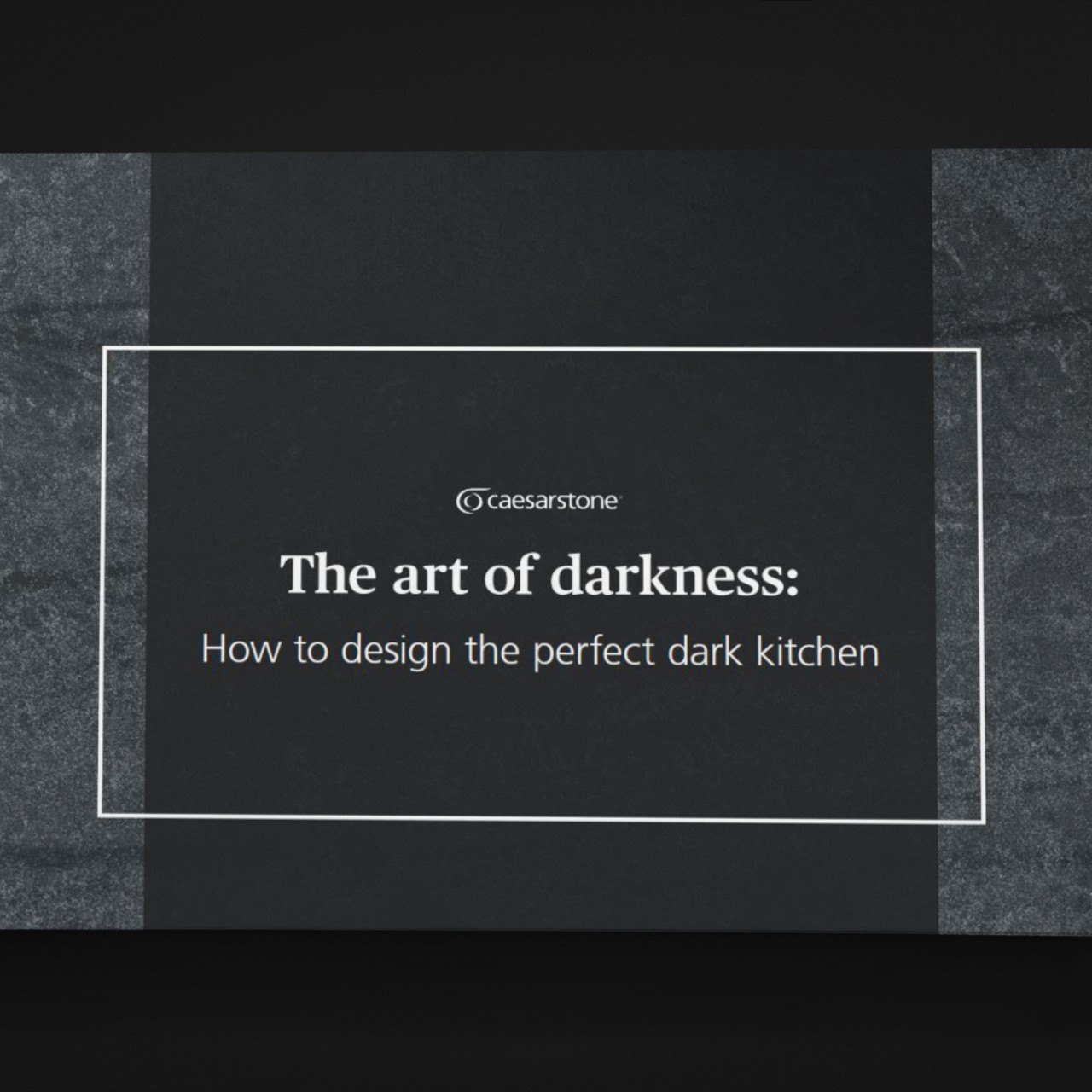 The art of darkness: How to design the perfect dark kitchen